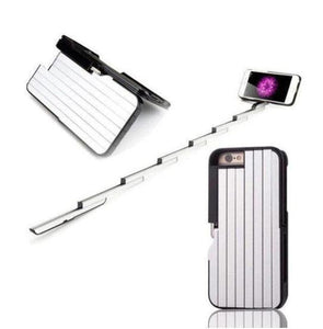 Phone Case With a Built-In Retractable Selfie Stick - YIKOBUY