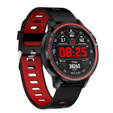 2020 Newest L8 IP68 Waterproof Multiple Sports Mode Heart Rate Bluetooth Smartwatch - YIKOBUY