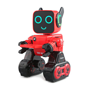 Interactive Remote Voice Gesture Control Multi-function Intelligent Robot - YIKOBUY