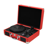 Portable Bluetooth Suitcase Turntable - YIKOBUY