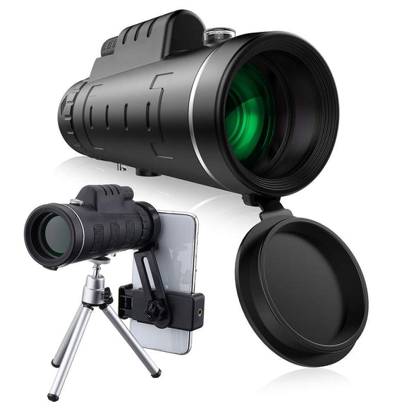 Best 40X60 Monocular Telescope Low Light Night Vision - YIKOBUY