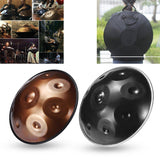 Hang F major/D minor 9 Notes Musical Hand Drum Professional Handpan Durable Carbon Steel Drum - YIKOBUY