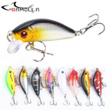 Crankbait Fishing Lure Weights 5cm/4.2g Mino Rock Bass Fishing 0.5-1.5m Deep Articulos De Pesca Isca Artificial Fake Fish Bait - YIKOBUY