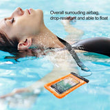 Baseus 6'' Universal IPX8 Waterproof Case Waterproof Pouch Swimming - YIKOBUY