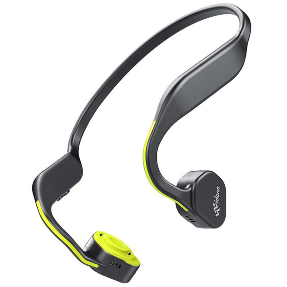 Wireless Bone Conduction Bluetooth Waterproof Running Sports Neckband Earphones - YIKOBUY