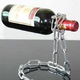 Magic Wine Bottle Holder Multiple Chain Lasso/Rope Illusion Rack Champagne Stand - YIKOBUY