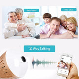 Wifi Light Bulb Security Camera(32GB SD Card As A Present) - YIKOBUY