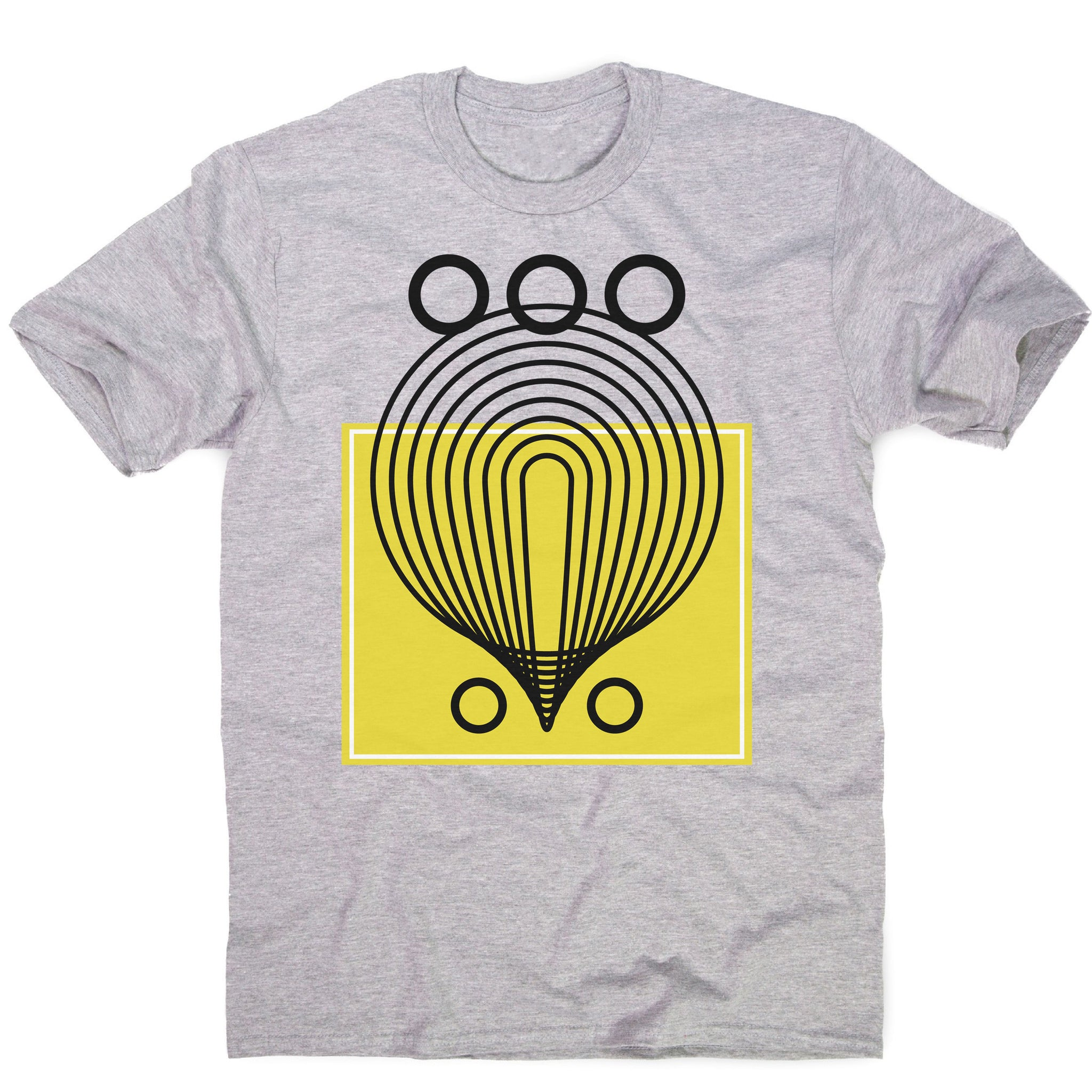 Geometric abstract shapes men's t-shirt