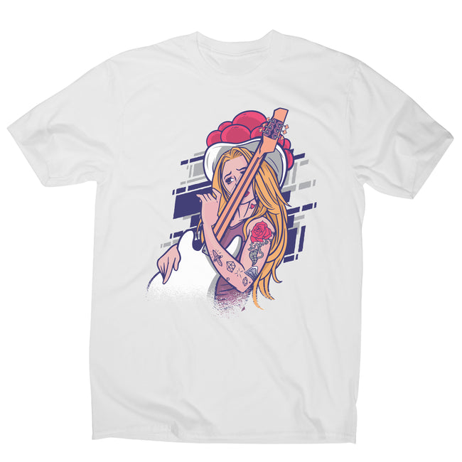 Rock and roll girl men's t-shirt