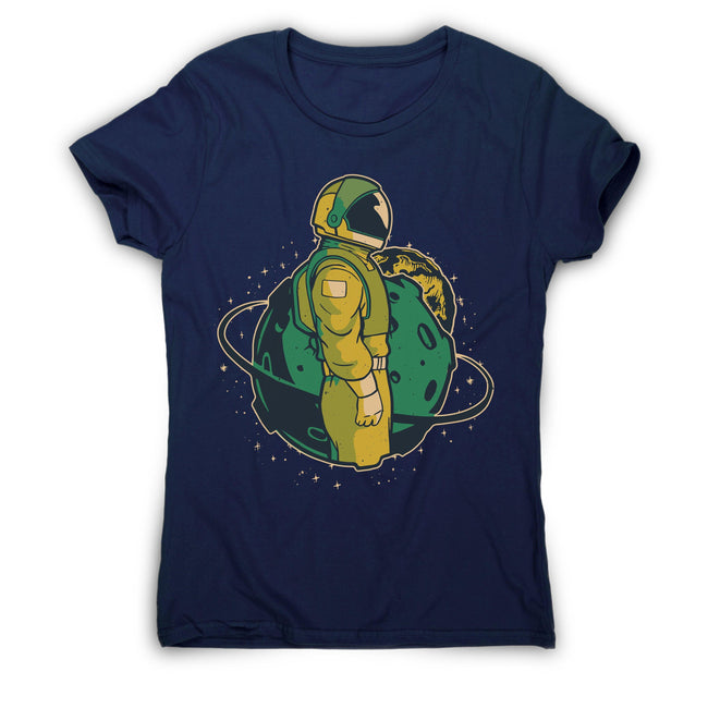 Astronaut in space women's t-shirt - Make It Print - Ellen Fraser