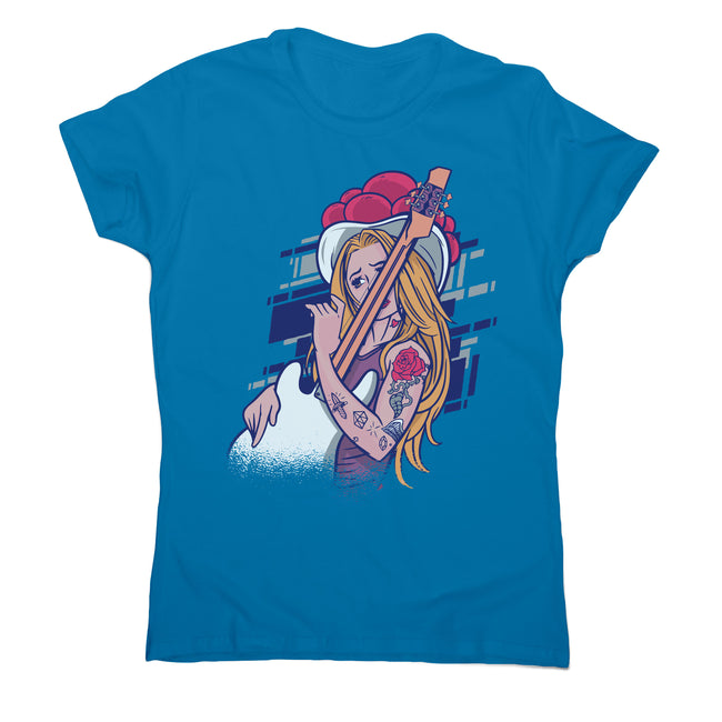 Rock and roll girl women's t-shirt