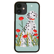 Dalmatian illustration iPhone case