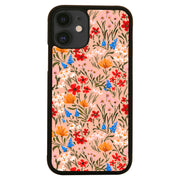Spring flowers pattern iPhone case