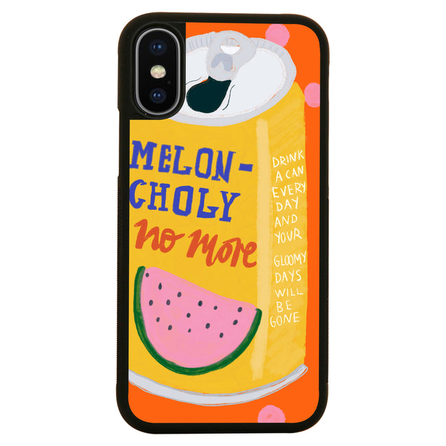 Melon-Choly no more iPhone case