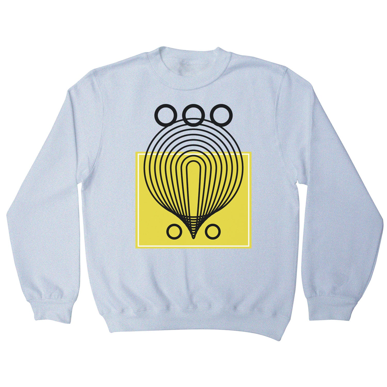 Geometric abstract shapes sweatshirt