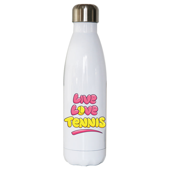 Live love tennis water bottle