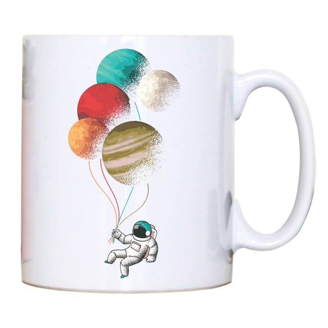 Astronaut balloons mug - Make It Print