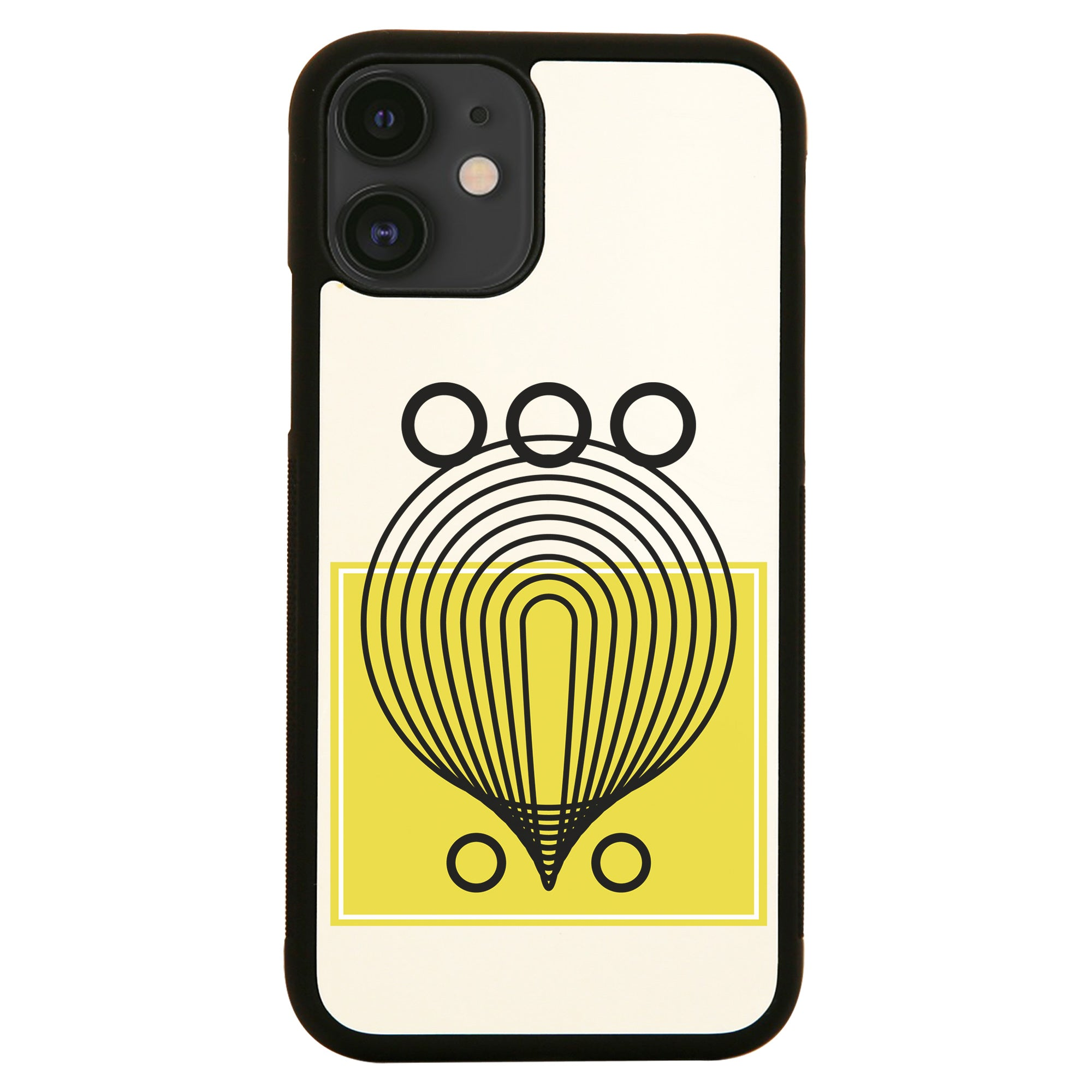 Geometric abstract shapes iPhone case
