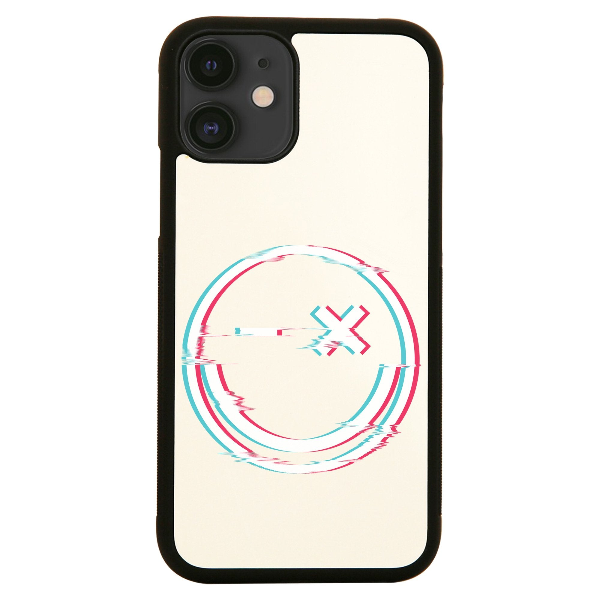 Smile glitch iPhone case