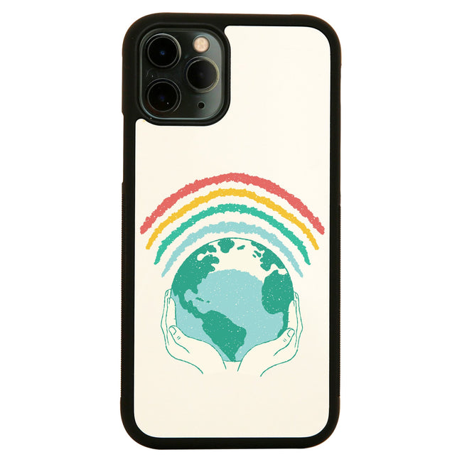 Earth rainbow iPhone case - Make It Print