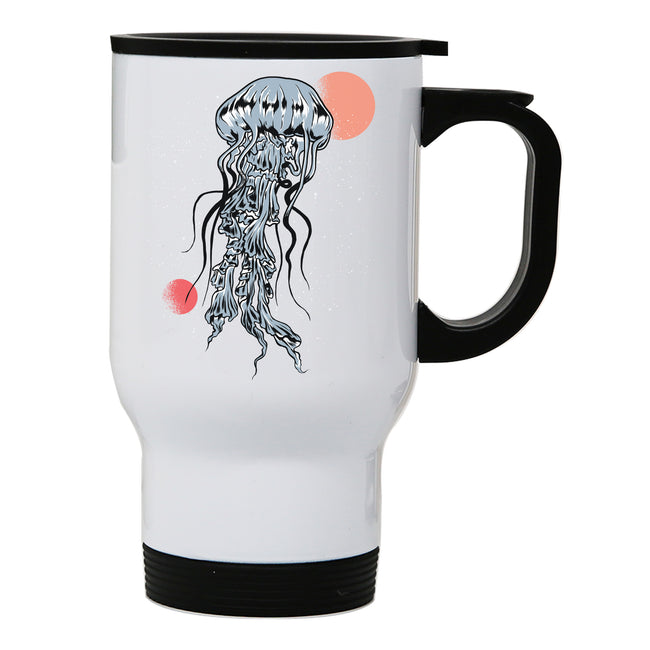Space Jellyfish travel mug