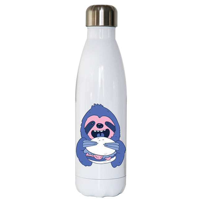 Sloth Burger water bottle - Make It Print