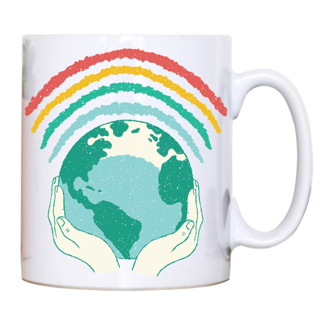 Earth rainbow mug - Make It Print