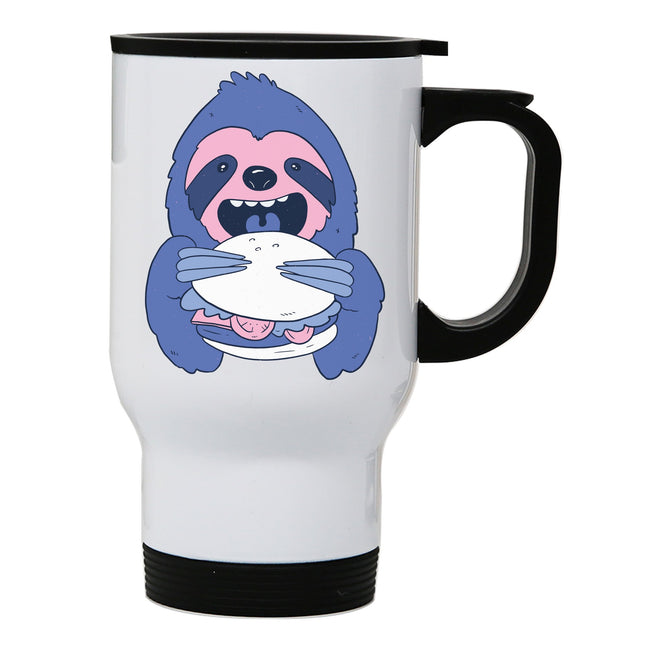 Sloth Burger travel mug - Make It Print