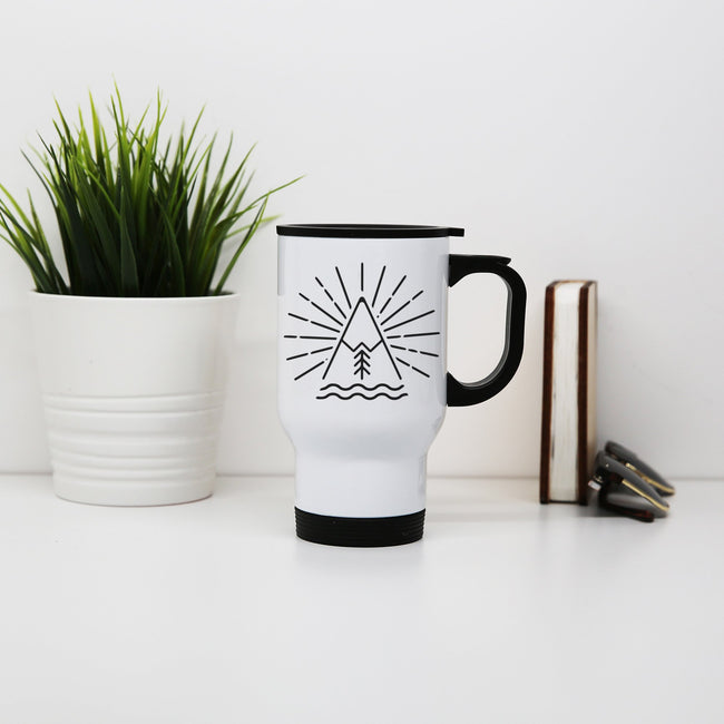 Nevado Icon travel mug - Make It Print