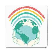 Earth rainbow coaster - Make It Print