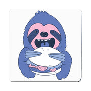 Sloth Burger coaster - Make It Print