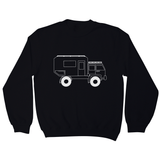 Penelope the Truck Outline sweatshirt - Make It Print
