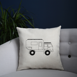 Penelope the Truck Outline cushion - Make It Print