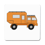 Penelope the Truck coaster - Make It Print