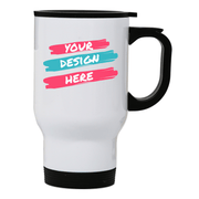 Stainless steel travel mugs - Make It Print
