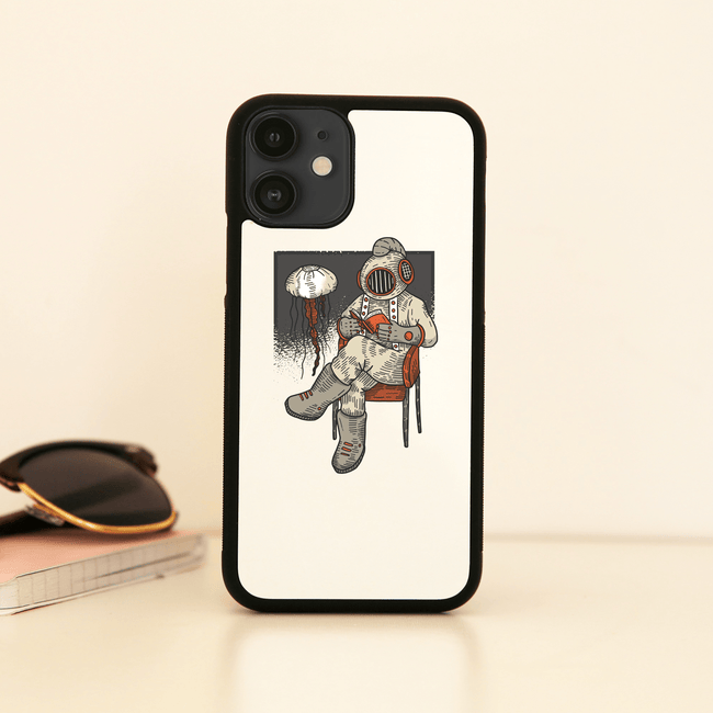 Reading diver iPhone case - Make It Print