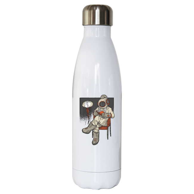 Reading diver stainless steel water bottle - Make It Print