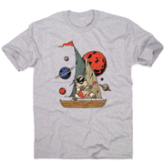 Pirate astronaut men's t-shirt - Make It Print