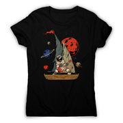 Pirate astronaut women's t-shirt - Make It Print