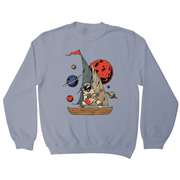 Pirate astronaut sweatshirt - Make It Print