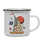 Pirate astronaut camping mug - Make It Print