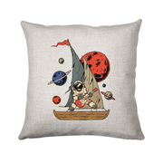 Pirate astronaut cushion - Make It Print