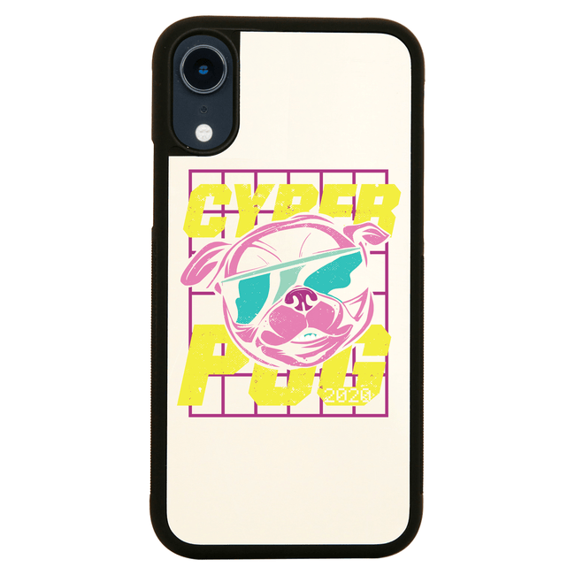Cyber Pug iPhone case - Make It Print