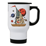 Pirate astronaut stainless steel travel mug - Make It Print