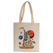 Pirate astronaut tote bag - Make It Print
