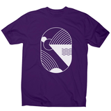 Minimal abstract men's t-shirt - Make It Print