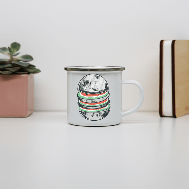 Watermelon moon camping mug - Make It Print