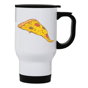 Pizza slice stainless steel travel mug - Make It Print