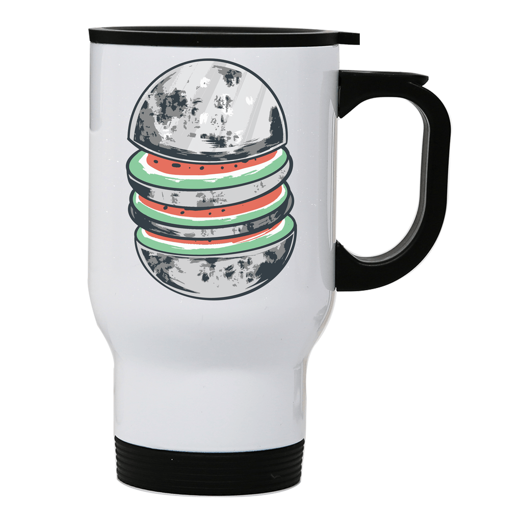 Watermelon moon stainless steel travel mug - Make It Print