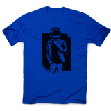 Rock astronaut men's t-shirt - Make It Print